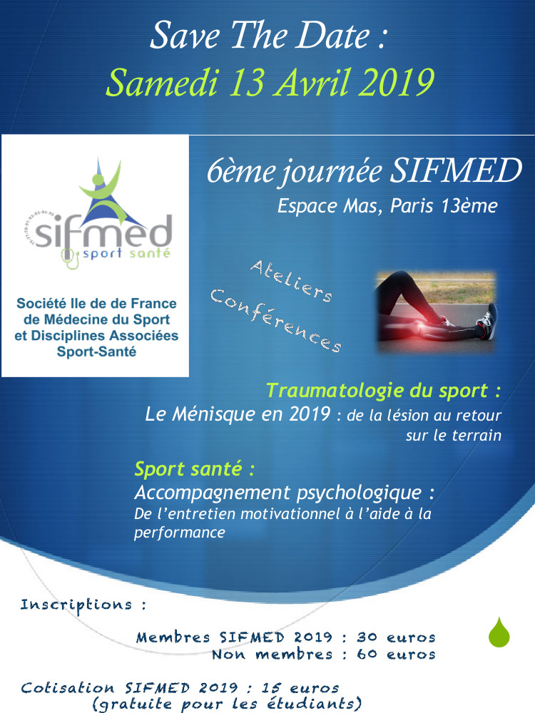 save The Date SIFMED 2019